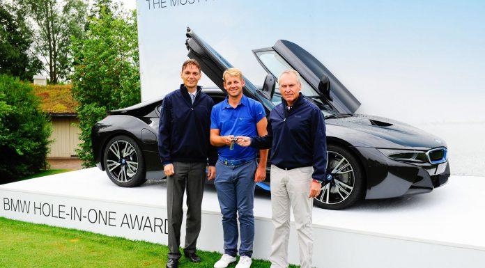 Golfer Rewarded BMW i8 After Hole-in-One
