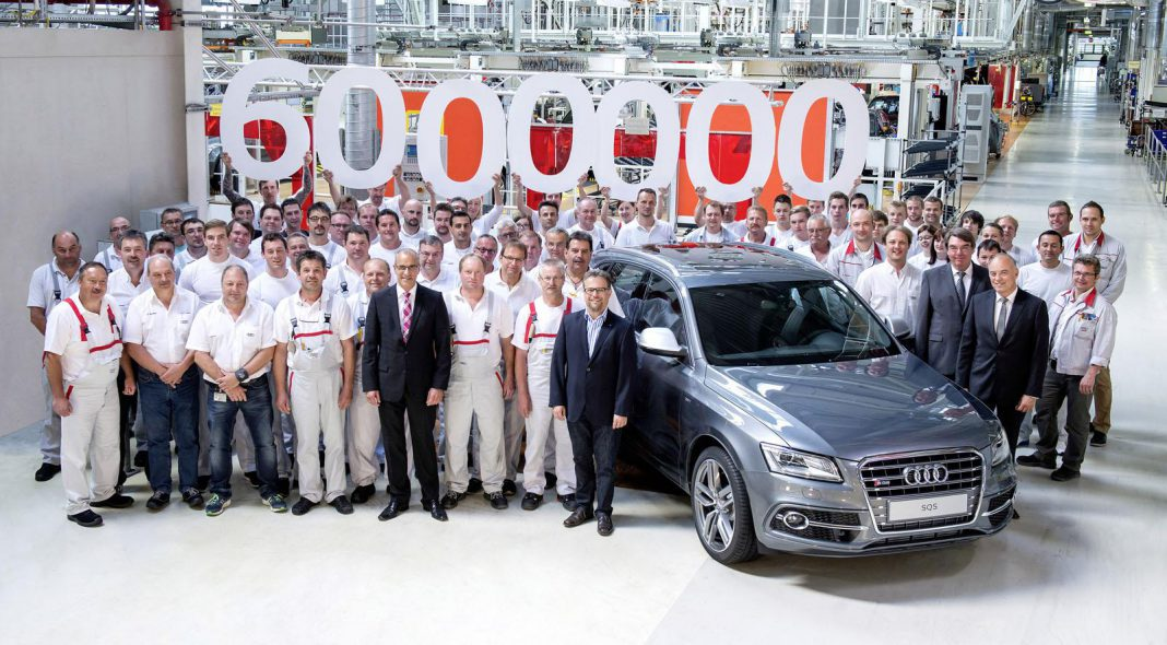 Six-Millionth Quattro All-Wheel Drive Audi Completed