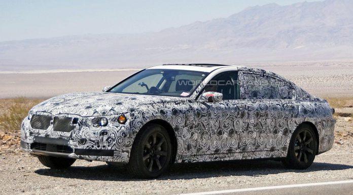 Next-gen 2015 BMW 7-Series Long-wheelbase Tests in the U.S