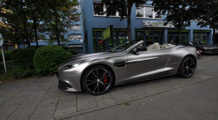 Alubeam Chrome Matt Aston Martin Vanquish Volante