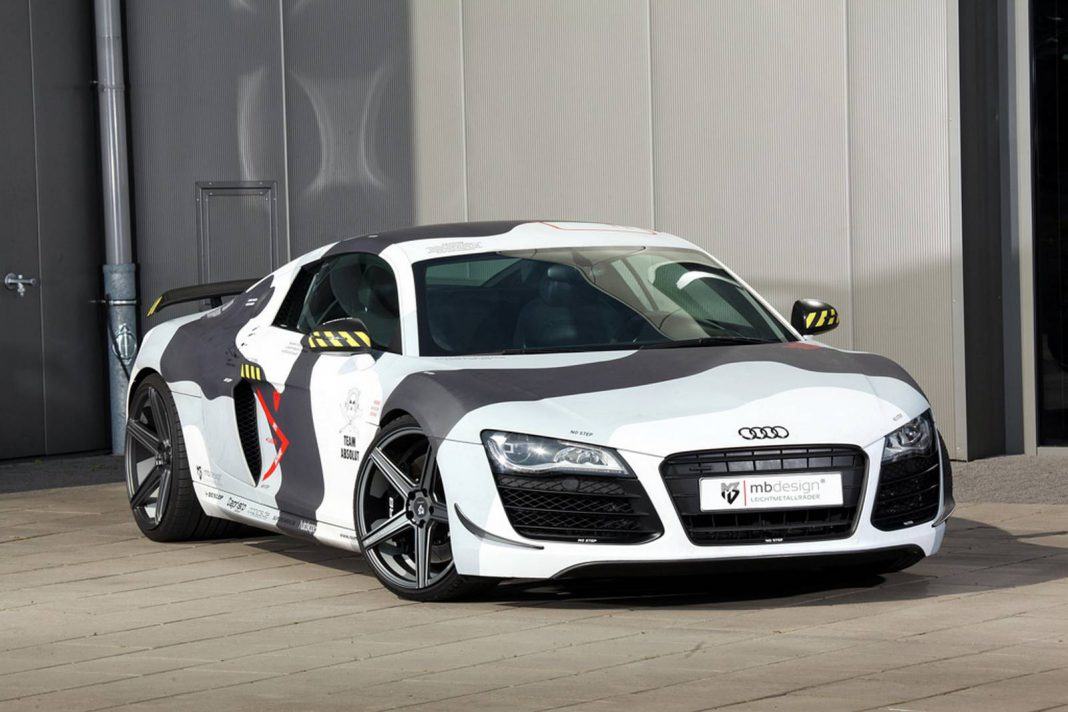 Official: Audi R8 by MbDesign