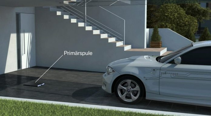 BMW Previews Wireless Charging for i3 and i8