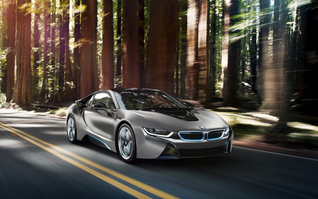 Unique BMW i8 Debuting and Being Sold at Pebble Beach