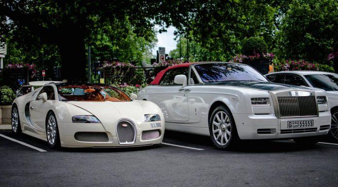 Bugatti Veyron + Rolls-Royce Phantom