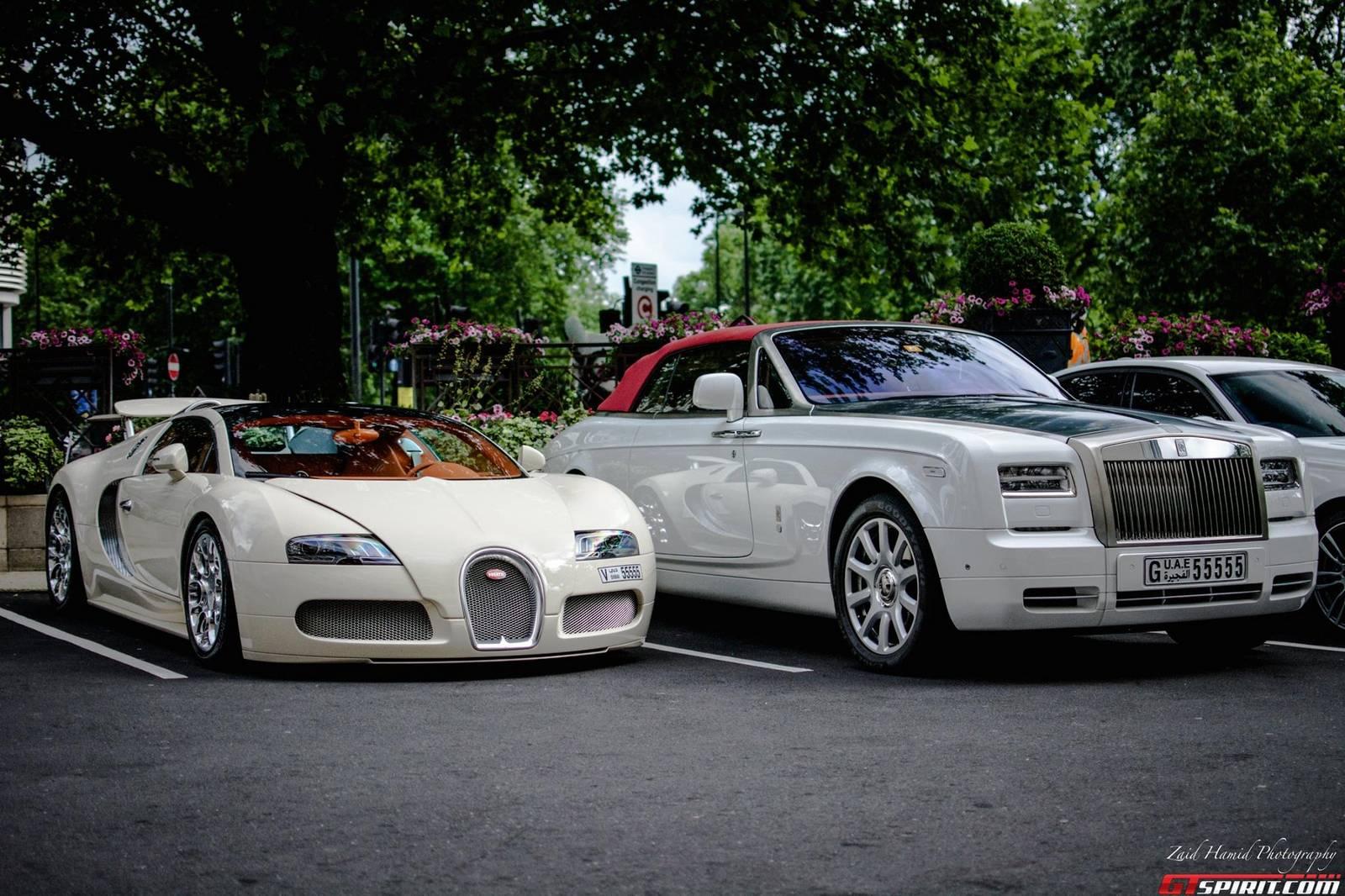 Bugatti Veyron Rolls Royce Phantom