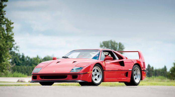 Rob Stewart's Former Ferrari F40 Heading to Auction