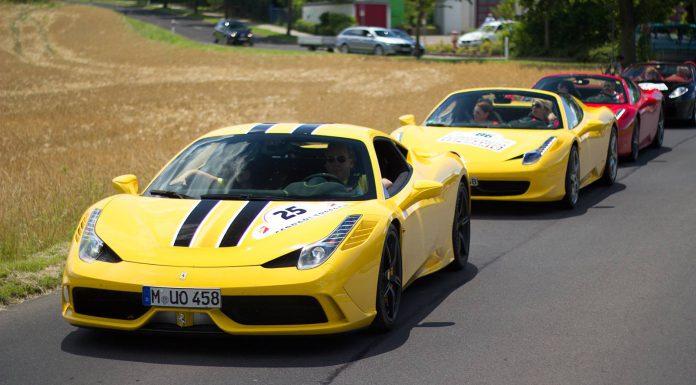 Gallery: 9th Annual Ferrari Meeting in Fulda Germany