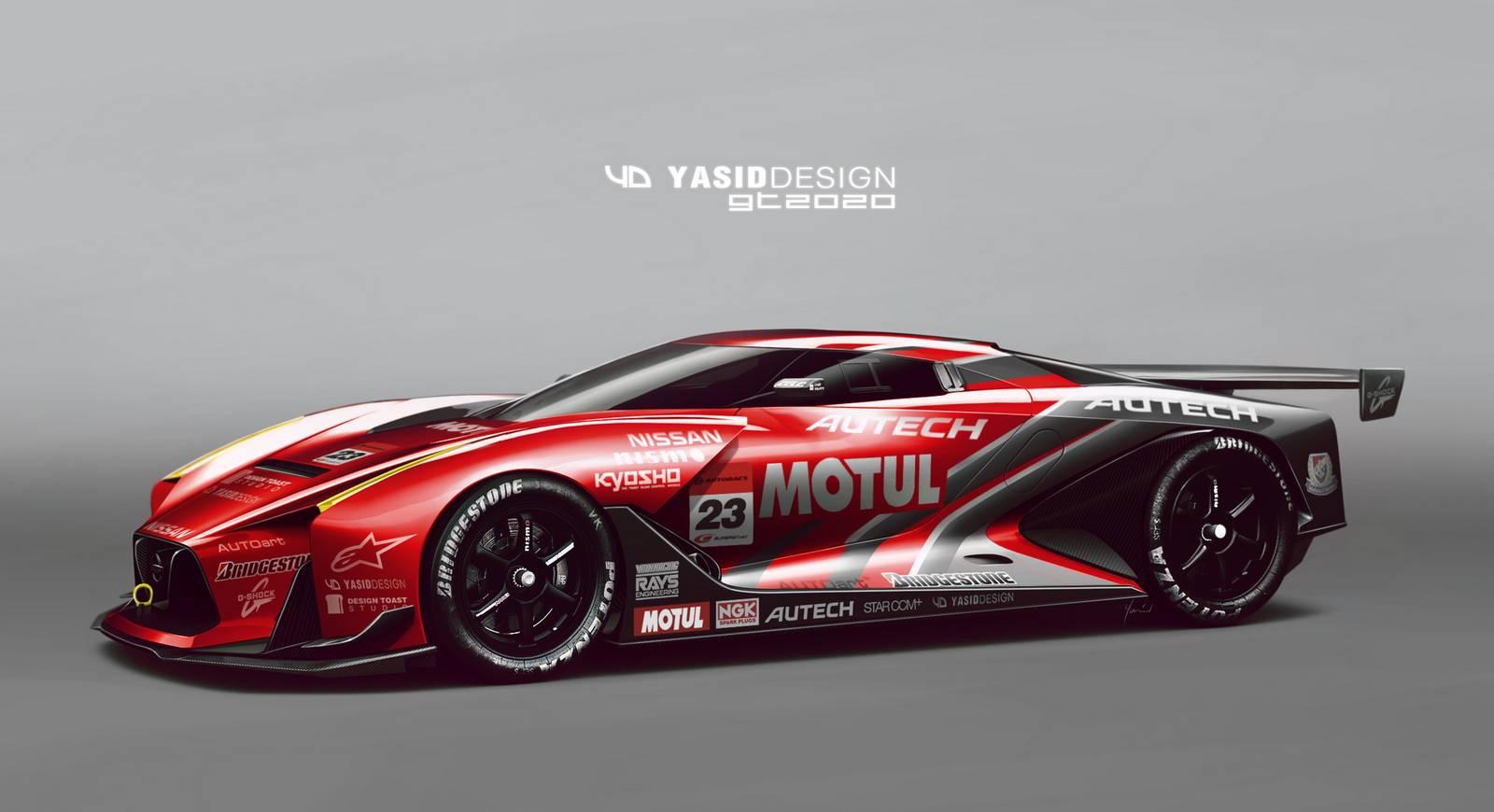 Track Spec Nissan 2020 Vision Gt Concept Imagined Gtspirit