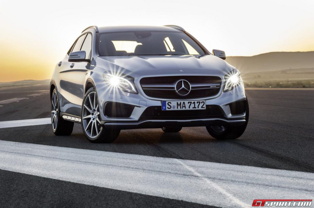Mercedes-Benz GLA Priced From $31,000 in U.S