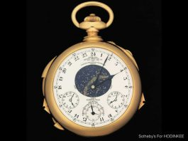 Patek Philippe Supercomplication Pocket Watch Could Sell For Over $16 Million!