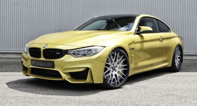 Hamann Introduces a Wheels Package for the BMW M4