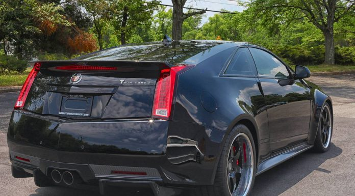 253mph 1250hp Twin Turbo Cadillac CTS-V Bound for Mecum Auctions