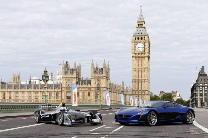 Rimac Automobili Enters Partnership with FIA Formula E