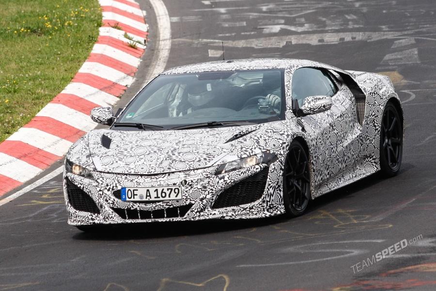 New Honda NSX Prototype Finally Hits the Nurburgring!