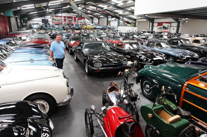 JLR's Special Operations Purchases 543 Strong British Car Collection