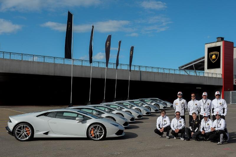 Lamborghini Introduces Performance Driving School for North America