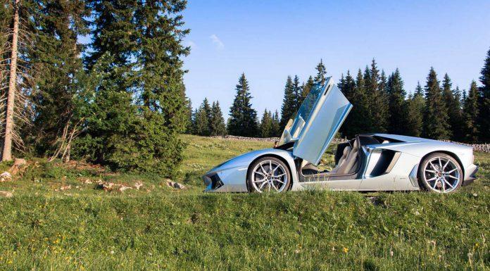 Lamborghini Day in Porrentruy Switzerland