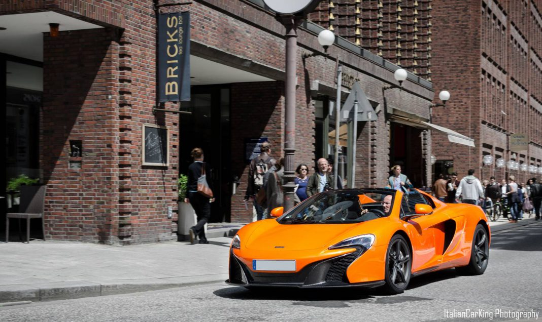 Tarocco Orange McLaren 650S Spider Photoshoot