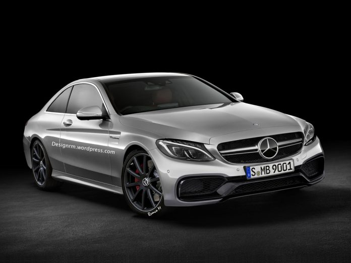 Upcoming Mercedes-Benz C63 AMG Coupe Comes to Life (Virtually)