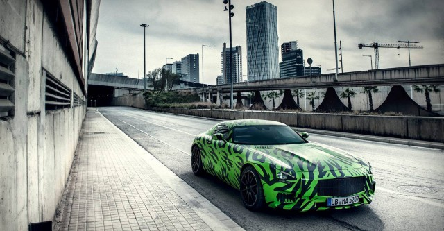 2015 Mercedes AMG GT in the City