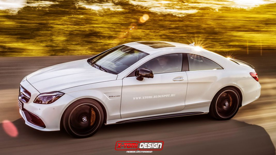 Mercedes-Benz CLS 63 AMG Coupe Rendered