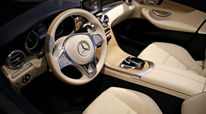 Pre-Production Mercedes-Benz C-Class Cabriolet Interior Previewed