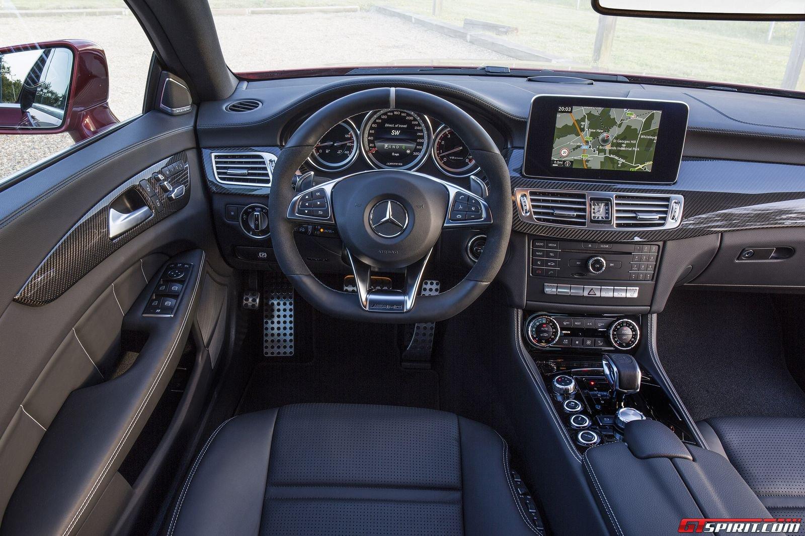 Mercedes cls amg interior interior ideas for Mercedes vito interieur