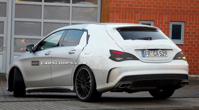 Mercedes-Benz CLA Shooting Brake Confirmed for 2015 Debut