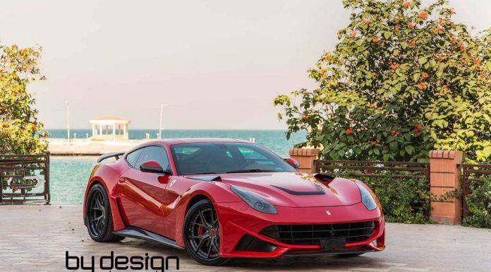 Red Novitec N-Largo Ferrari F12