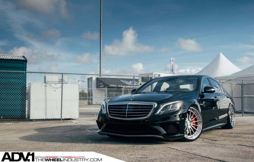 2015 Mercedes-Benz S 63 AMG Adorned With ADV.1 Wheels