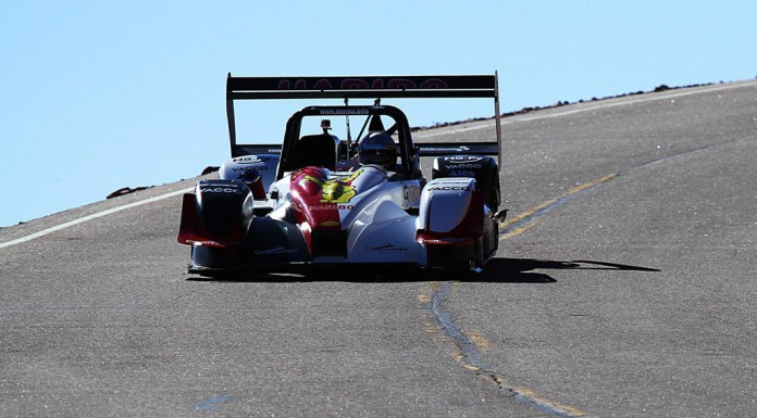 Romain Dumas Tacks Victory at Pikes Peak International Hillclimb 2014