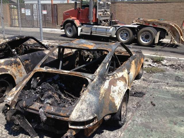World's Most Original Porsche 911 RSR Destroyed in Fire