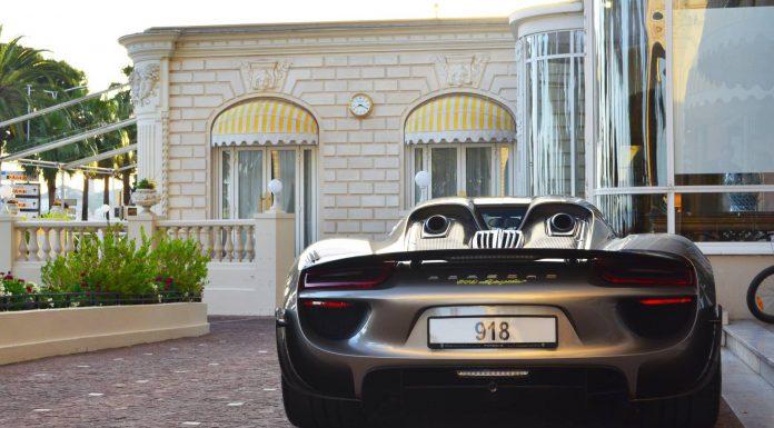 Porsche 918 Spyder Weissach Edition in Cannes