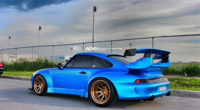Stunning RWB Porsche 993 Turbo With Golden ADV.1 Wheels