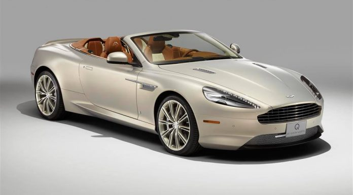 Q by Aston Martin Reveals New DB9 Volante