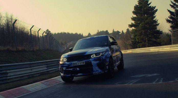 2015 Range Rover Sport SVR Sets Nurburgring SUV Lap Record