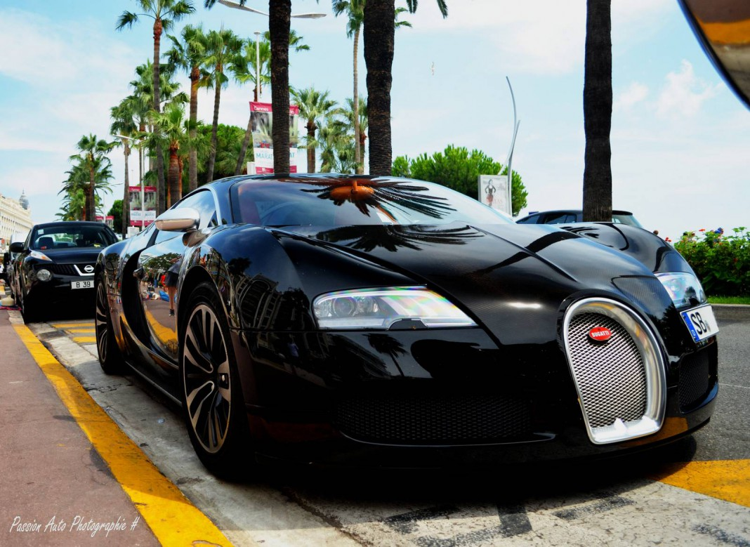 Rare Bugatti Veyron Sang Noir Found in Cannes