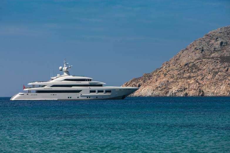 CRN 61mt Saramour Superyacht