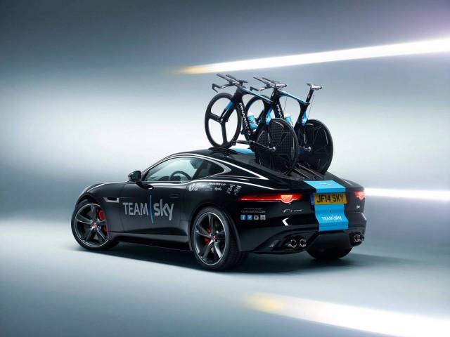 Team Sky Jaguar F-Type Coupe for Tour de France