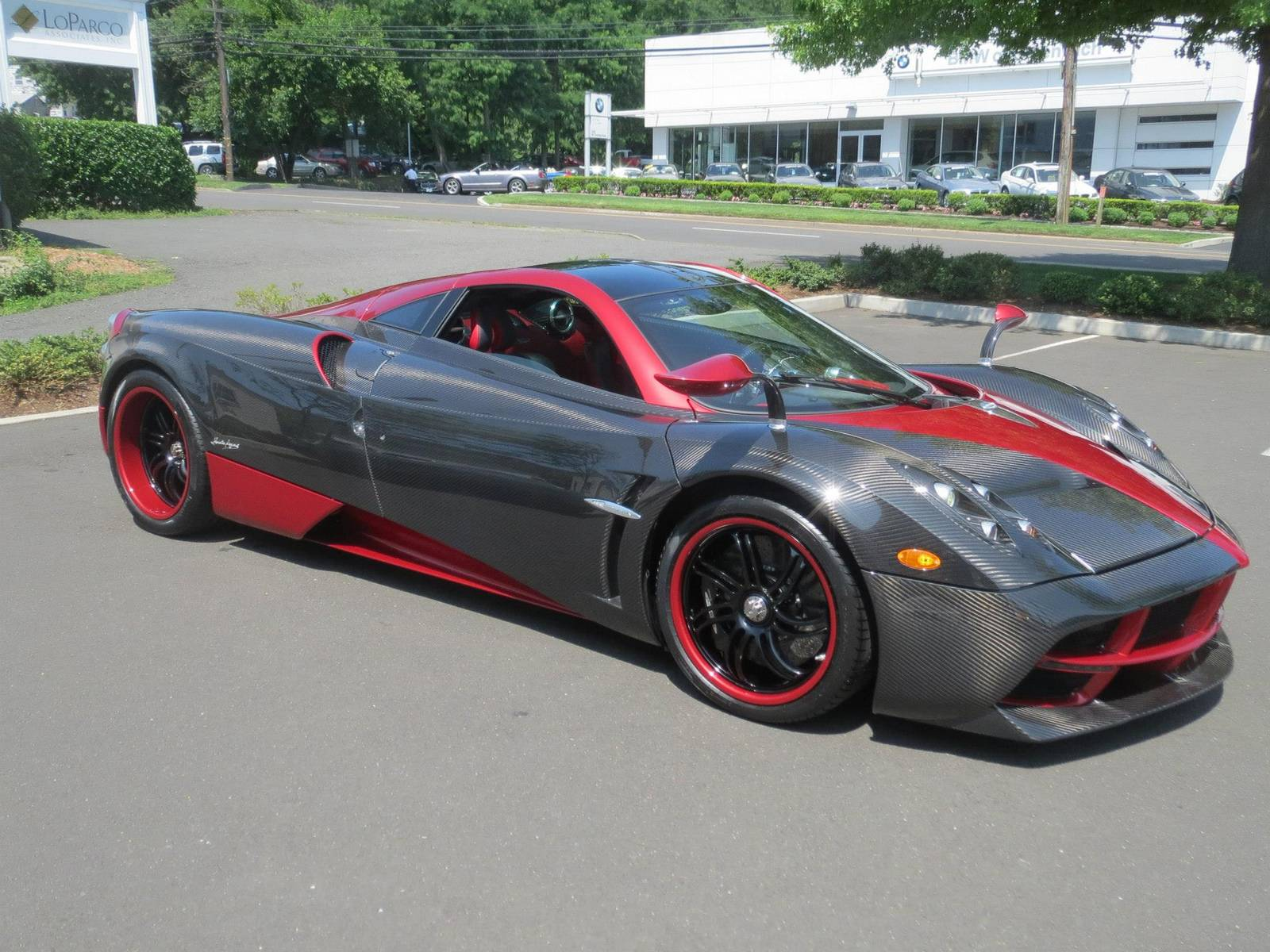 Miller motorcars receives unique two tone pagani huayra Micheal motors