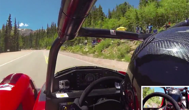 Video: Mitsubishi's Record EV Pikes Peak Run