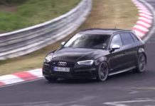 VIdeo: Upcoming Audi RS3 Sportback Hits the Nurburgring Again