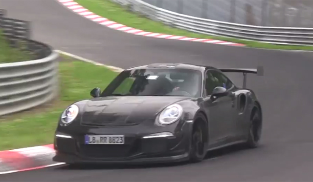 Video: 2015 Porsche 911 GT3 RS Continues Nurburgring Testing