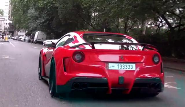 Video: Novitec N-Largo Ferrari F12 Hits London Streets!