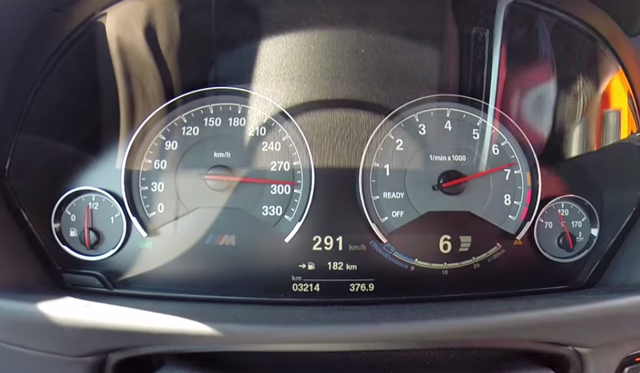 Video: Zero to 290km/h in Beastly BMW M4 Coupe