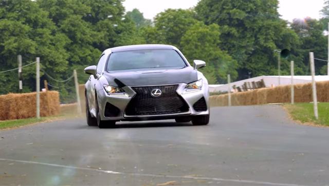 Video: Lexus RC F Hits Goodwood Hillclimb