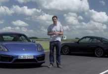 Video: Porsche Cayman GTS vs 996 911 GT3 on Track