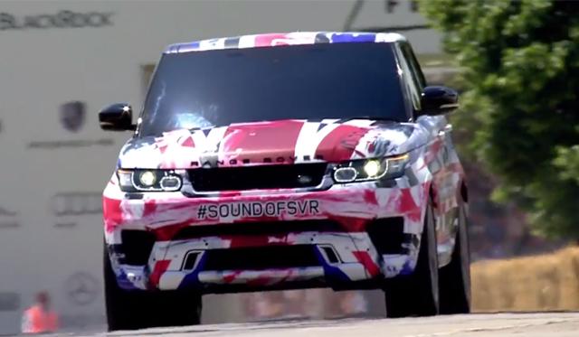 Video: Range Rover Sport SVR Stuns at Goodwood
