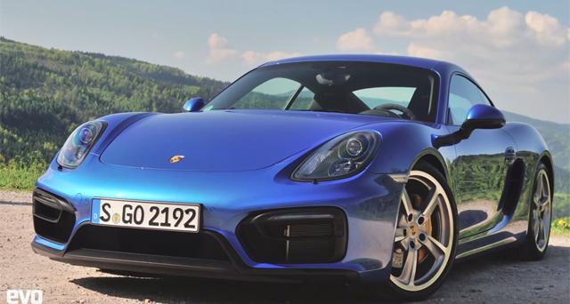 Video: Epic Growl of the Porsche Cayman GTS