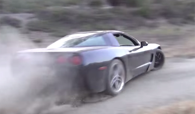 Video: Chevrolet Corvette C5 Rally Car